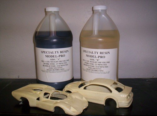 Model-Pro Polyurethane Casting Resin Liquid Plastic for Making Models and Crafts - 1 Gallon - Scale Resin Cast