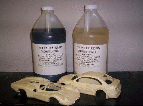 Model-Pro Polyurethane Casting Resin Liquid Plastic for Making Models and Crafts - 1 Gallon Kit