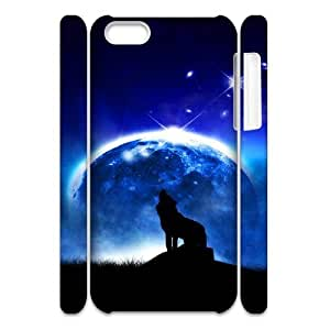 MEIMEIiphone 6 4.7 inch Case 3D, Howling Wolf In the Moonlight Case for iphone 6 4.7 inch white lmiphone 6 4.7 inch172388MEIMEI
