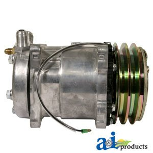 A&I - Compressor, New, Sanden Style w/ Clutch (8390). PART NO: A-500-244