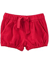 Baby Girls' Tie Front Shorts