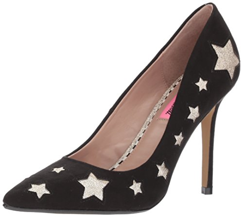 Betsey Johnson Womens Pryce Dress Pump Nero / Multi