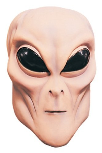 Rubie's Costume Flesh Alien Overhead Mask, Flesh, One Size (Alien Child Mask)