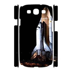 3D Sexyass Space Shuttle Samsung Galaxy S3 Cases Space Shuttle, Space Shuttle [White]
