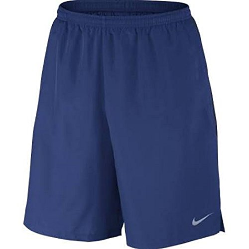 Nike Running Suits (Nike Mens Challenger Shorts Royal Blue/Obsidian Size)