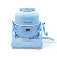 If you're looking for a highly portable, hand operated washing machine that's economical, compact and leaves your clothes sparkling clean, Then the amazing WonderWash is just what you need. Weighing in at under 6 lbs., pound for pound this ha...