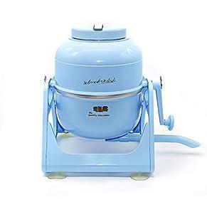 The Laundry Alternative Wonderwash Retro Colors Non-electric Portable Compact Mini Washing Machine (Blue)