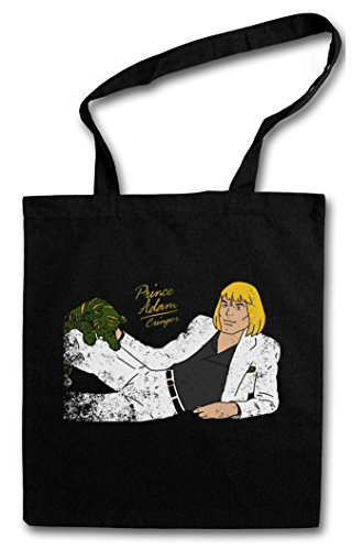 THRILLER LOGO Hipster Shopping Cotton Bag Borse riutilizzabili per la spesa – Prince Michael Masters Adam Anime Series of the He Battle Cat Universe Man Jackson Skeletor Motu Album Cover Gringer
