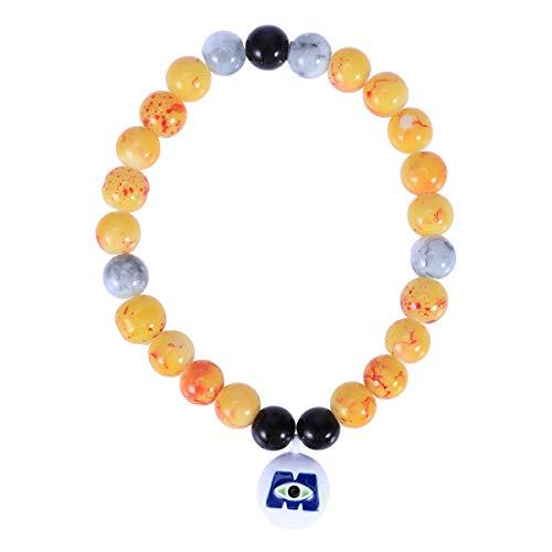 BESTOYARD Jewelry Pumpkin Pendant Bracelet Children Chunky Necklace Halloween Party Outfits Accessories (W011) -