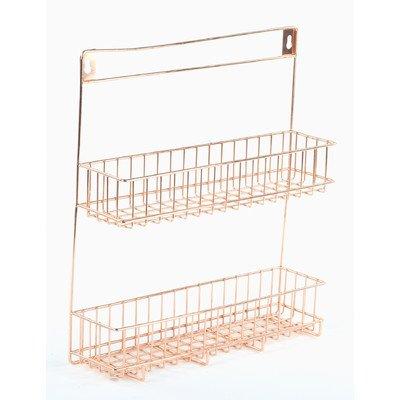 Design Ideas 3536046-DI Lincoln Spice Rack, Copper