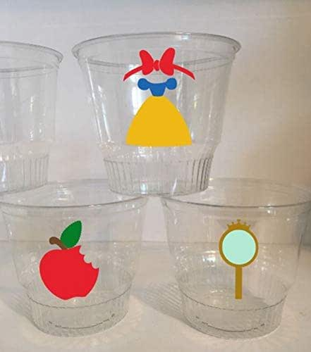 Today S Hint 7 Affordable Activity Ideas For First: Amazon.com: Snow White Inspired Party Cups SET OF 12