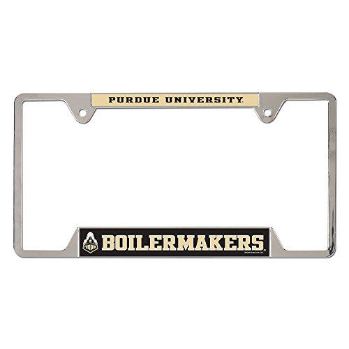 (WinCraft NCAA Purdue University Metal License Plate Frame)