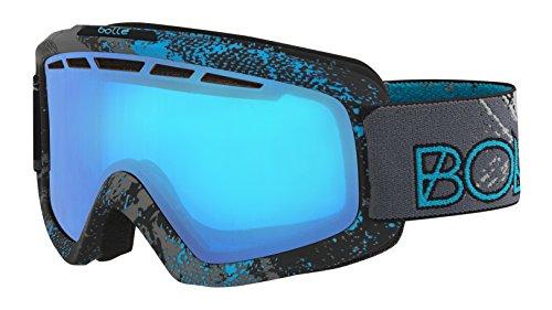 Bolle Nova II Goggles Matte Blue Zenith Modulator Vermillon Blue - - Bolle Modulator