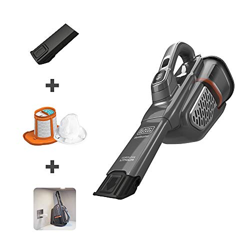 BLACK+DECKER HHVK415B01 Dustbuster Handheld Vacuum, Gray