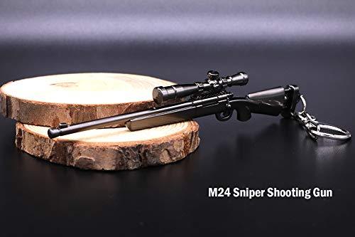 Amazon.com: Llavero con diseño de pistola, francotirador y ...