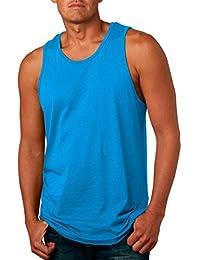 Next Level Men's Jersey Tank (Turquoise)