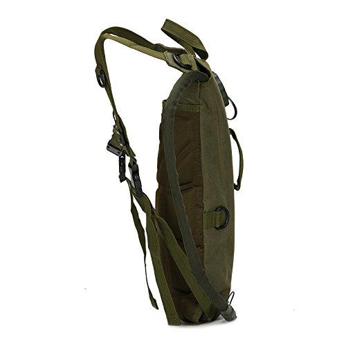 Reiten Rucksack Wasserbeutel Rucksack Armee Mini-Camouflage, Tourismusprodukte, drei Camouflage