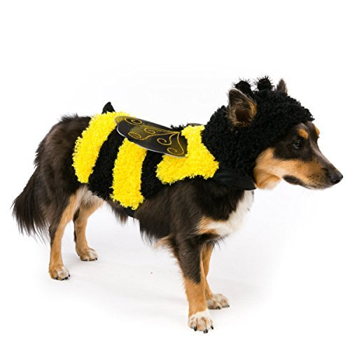 Top Paw BEE Dog Dress-Up Halloween Costume