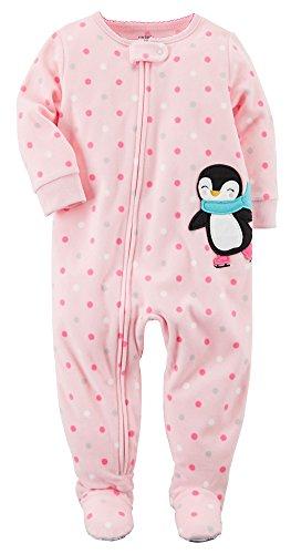 Carter's Fleece Footed Pajamas - 5