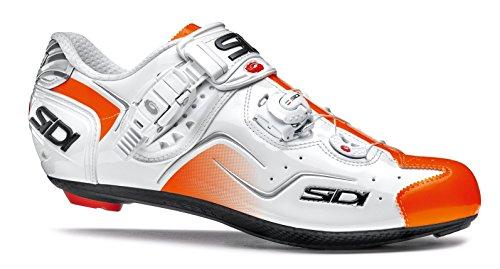 Sidi Kaos Road Schuhe Weiß / Orange Fluo