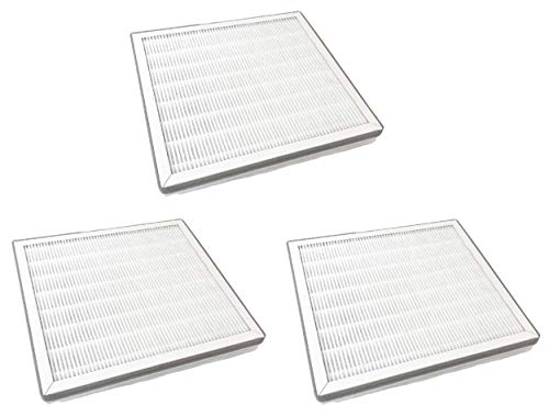 Nispira Replacement True HEPA Filter with Pre Filter Compatible with Pure Zone Purezone 3-in-1 Air Purifier, 3 Filters