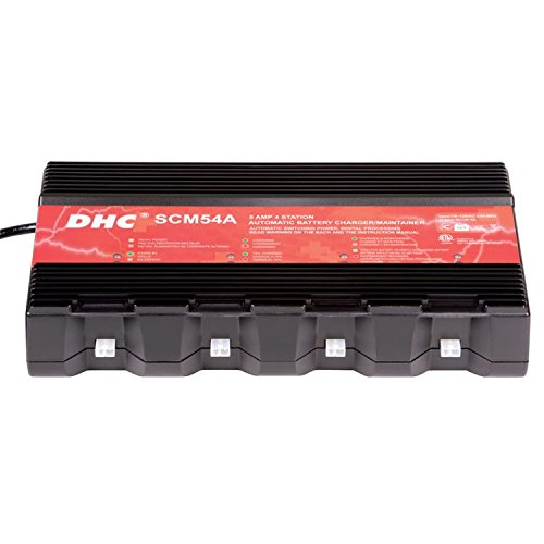 DHC 5 AMP 4 Station Automatic Battery Charger/Maintainer