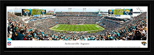 (Jacksonville Jaguars - 42x15.5-inch Single Mat, Select Framed Picture by Blakeway Panoramas)