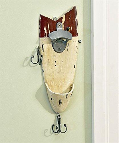 fish wall mount bottle opener - 3