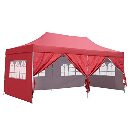 Cheap  10x20 Ft Pop up Canopy Party Wedding Gazebo Tent Shelter with Removable..