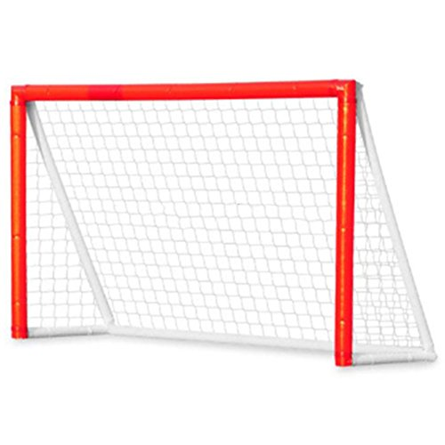 Inflatable Hockey Goal For Kids Children, Safe and Portable Indoor Outdoor Use for Field hockey, Backyard Fun Play Air Hockey Goal, 6 ft x 4 (Inflatable Hockey Player)