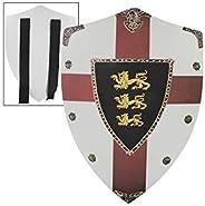 Richard The Lionheart Lion Passant Guardant Medieval Foam Shield