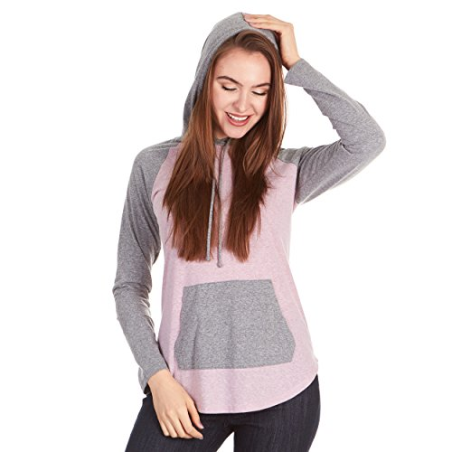 - X America Junior and Plus Size Hoodies for Women, Thin & Lightweight Made in USA