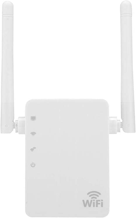 Oumij Amplificador de Red WiFi para Casa - 300Mbps Antena - Dual Repetidor WiFi Extensor Amplificador - de Señal de Red Inalámbrica Amplificador - de ...