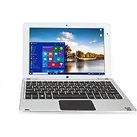 Bit W10048APS CORE+ Windows 10 detachable PC, Cherry Trail CPU, 4GB RAM 128GB storage, HD touchscreen, 10.1, Silver