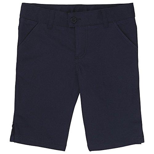 ls' Twill Bermuda Short, Navy, 8 ()