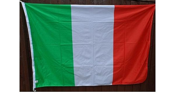 Italia Bandera – relación 2: 3 – Colores Pantone Exacto – Exclusivo para 1000 Banderas: Amazon.es: Hogar