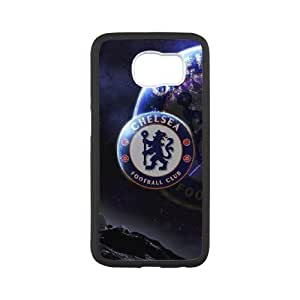 Chelsea team logo series For Samsung Galaxy S6 I9600 Csaes phone Case THQ141219