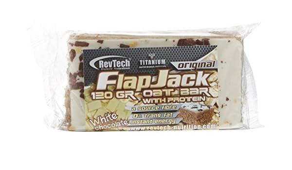 Revtech Flapjack, Suplemento para Deportistas, Sabor a Chocolate Blanco - 24 Flapjacks: Amazon.es: Salud y cuidado personal