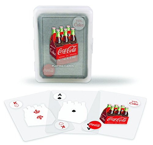 Coca-Cola Clear Playing Cards