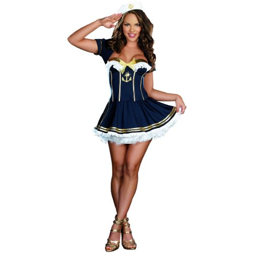 Rockin' The Boat Costume - Small - Dress Size 2-6 ()