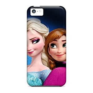 Sanp On Case Cover Protector For Iphone 5c (frozen Elsa And Anna)