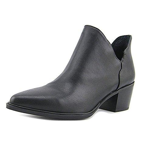 Betsey Johnson Molly Women US 6.5 Black Peep Toe Ankle Boot