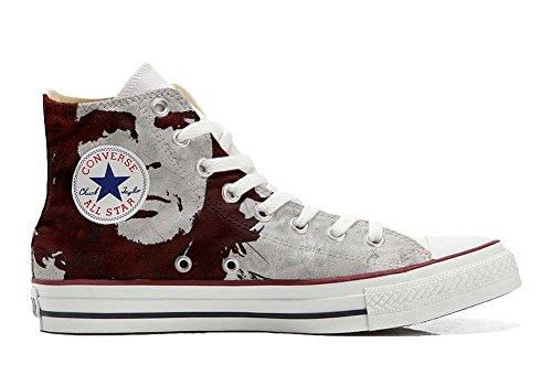 Converse Sneaker Imprimés Chaussures Et Coutume Star produit Che El Unisex All Personnalisé Hi Artisanal Italien gaygFr