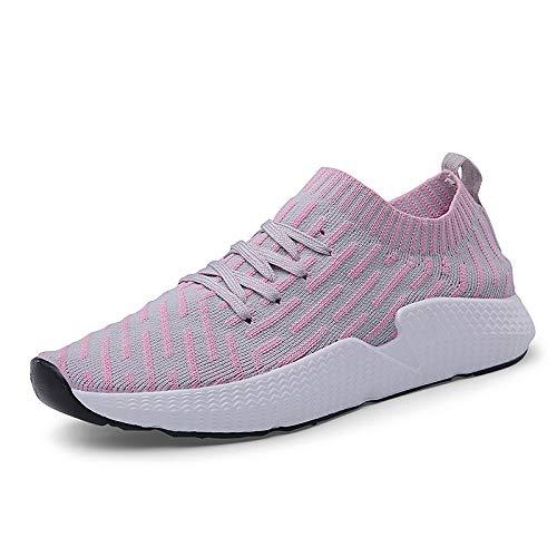 Mujer Summer Rosa Heel Blanco Sneakers ZHZNVX Negro Pink Claro Flat Comfort de Toe Light Zapatos Round Tulle wIxnCUEq