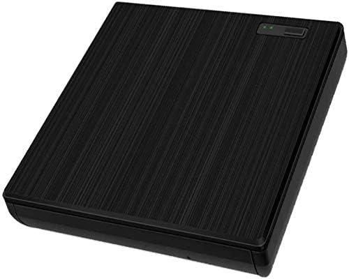 KJRJFD USB 2.0 CD DVDドライブポータブルCD DVD +/- RWドライブスリムDVD/CD-ROMライタバーナーライター、ラップトップのための高速データ転送/MacBookの/デスクトップ/MacOSの/ Windows10 / 8/7 / XP/Viに