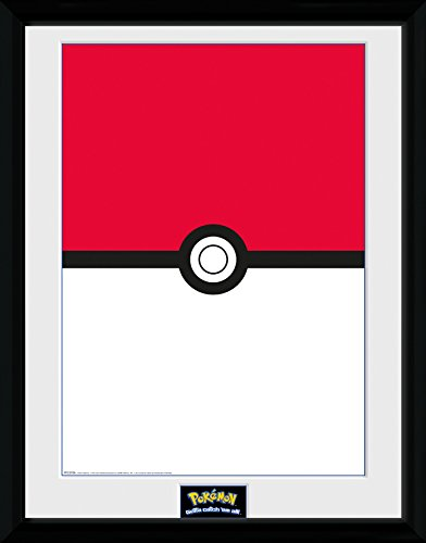 GB Eye LTD, Pokemon, Pokeball, Fotografia Enmarcada, 40 x 30 ...
