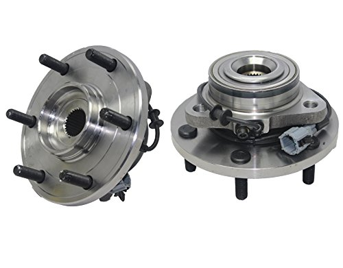 Brand New (Both) Front Wheel Hub and Bearing Assembly For - 2004-2007 Infiniti QX56 - [2004-2007 Nissan Armada] - 2004-2007 Nissan Titan