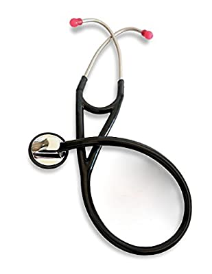 RA Bock Single Head Cardiology Stethoscope with Pressure Sensitive Diaphragm