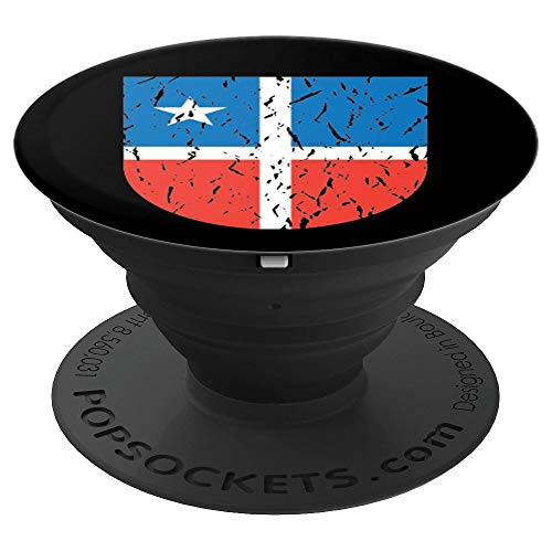 Lares Coat of Arms | Escudo de Lares Puerto Rico - PopSockets Grip and Stand for Phones and Tablets