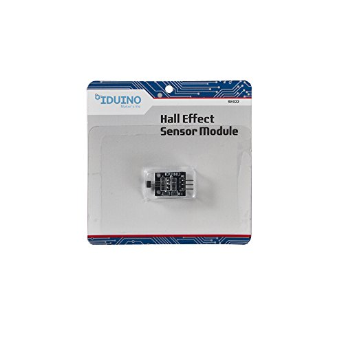 IDUINO 2 Pcs Arduino Compatible Hall Effect Magnetic Sensor DC ()